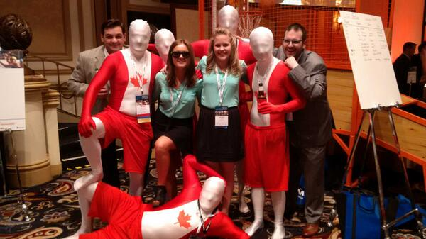 #cwsymposium ... and @CushWakeCanada wins the most creative table at the Deal Exchange - congrats team!! http://t.co/QnL3Hy387e