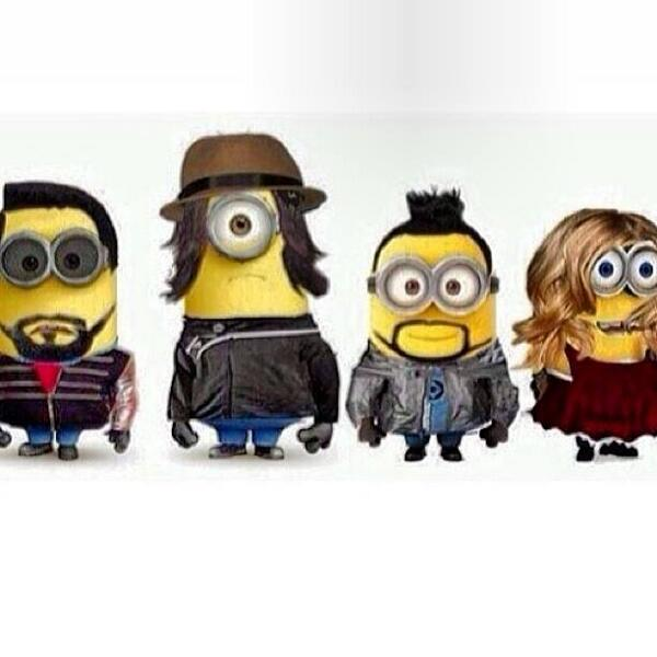 Next toy I'm collecting is #blackeyedpeas minions ! #toyologist #geekmode http://t.co/WHVfnsO8iL