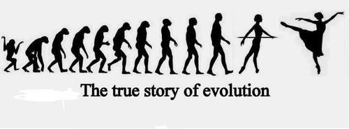 "The ""true"" story of evolution: http://t.co/lzEZSn6OHm"