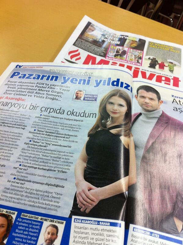 Bana göre Cumartesi gününün en güzel röportajı #milliyettv @amalkoc1903 #OHayatBenim http://t.co/6LsnTZ8U3N