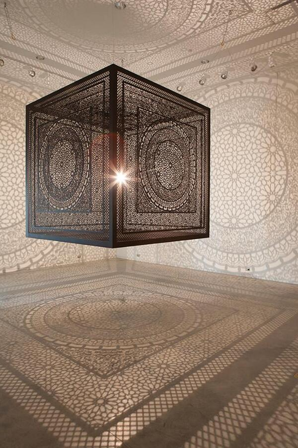 Intersections: A Carved Wood Cube That Casts Shadows Onto Walls by @anilaqagha #Art http://t.co/7aBKdwg0GT http://t.co/raJFyBn3O9