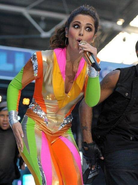 Interviewing @CherylCole later. So, what do you want to KNOW? I might ask her about this outfit http://t.co/CXguUhhr9c