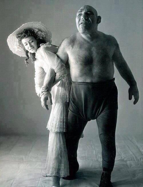 """Shrek is inspired by a real person, """"Maurice Tillet"""", a professional wrestler. http://t.co/rWzSyr9xmJ"""