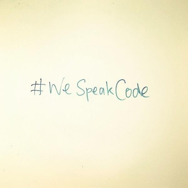 regram @cdeeme Are you able to do an hour of code? #wespeakcode http://t.co/vnKJphrrvq launches today! Very exc... http://t.co/cYVcAkWVGo