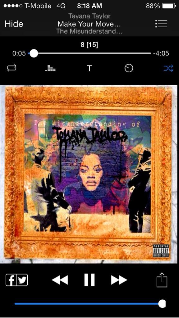 Teyana Taylor Mixtape