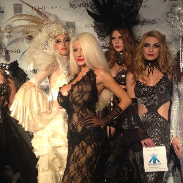 @CourtneyStodden joined us on #stylefw's red carpet in a @KickaCD dress #lafw #lalive #redcarpet http://t.co/FGbziULCxO