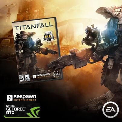 FREE GAME FRIDAY! Follow and RT for the chance to #WIN a copy of #Titanfall for PC! #FGF http://t.co/inL0t3PP7c