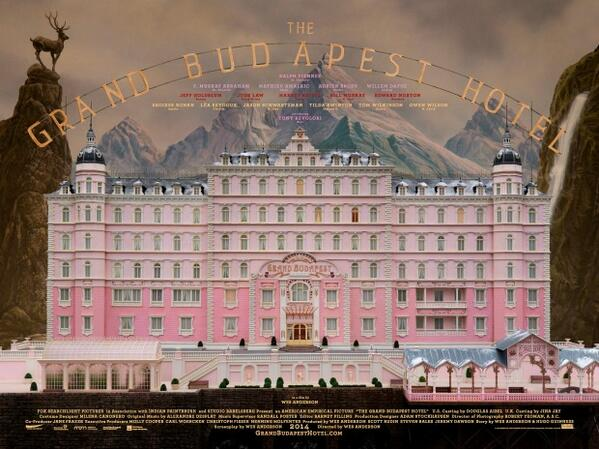 IFI Fans! You seem to love THE GRAND BUDAPEST HOTEL so much - here's your chance to win one of 2 posters! RT by 5pm! http://t.co/PfpbvQpc4e