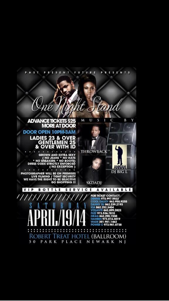 Saturday #April19th I'll be rocking @TheRobertTreatHotel in Newark, NJ http://t.co/MUQm0xxolK