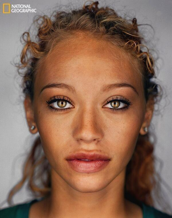 According to National Geographic, this is what the average human will look like in 2050 http://t.co/8QKjQWDXje