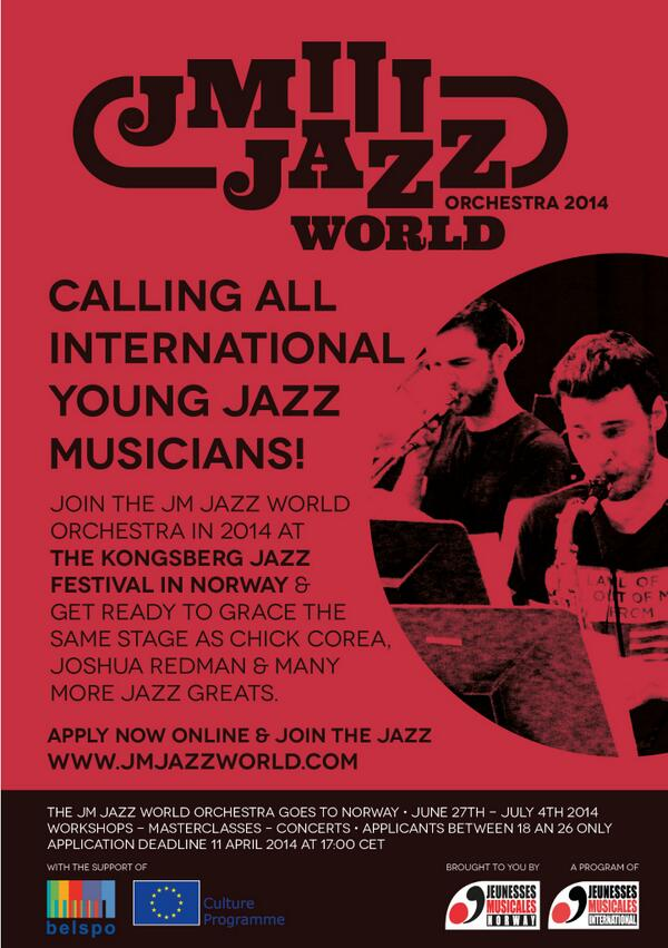 JM Jazz World 2014: Call for Musicians!