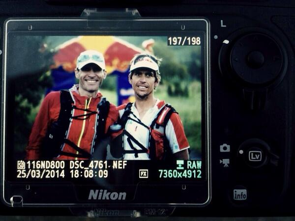 These 2 incredible human beings just set a phenomenal #draktraverse record of 41hrs49min...@ryansandes @Ryno_Griesel http://t.co/RsYb6sTL2v