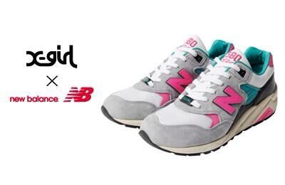 X-girl × new balance MRT580いよいよ明日4/12(土)発売‼ 即完売間違いないのでお店へ急いで! http://t.co/6qDWNWBvCp http://t.co/v23yVOIJCi