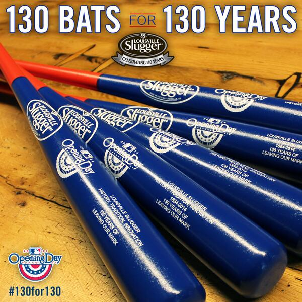 Want 1 of the @sluggernation #130for130 bats we just showed on @IntentionalTalk? RETWEET for a chance at one! http://t.co/6IfJbiDUqt