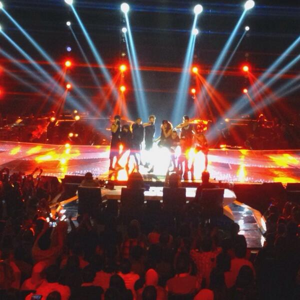 NEZindaCLUB OFFICIAL (@NICofficial): What a wonderful performance @agnezmo #AgnezMoIdol http://t.co/dKdQ8MgX7y