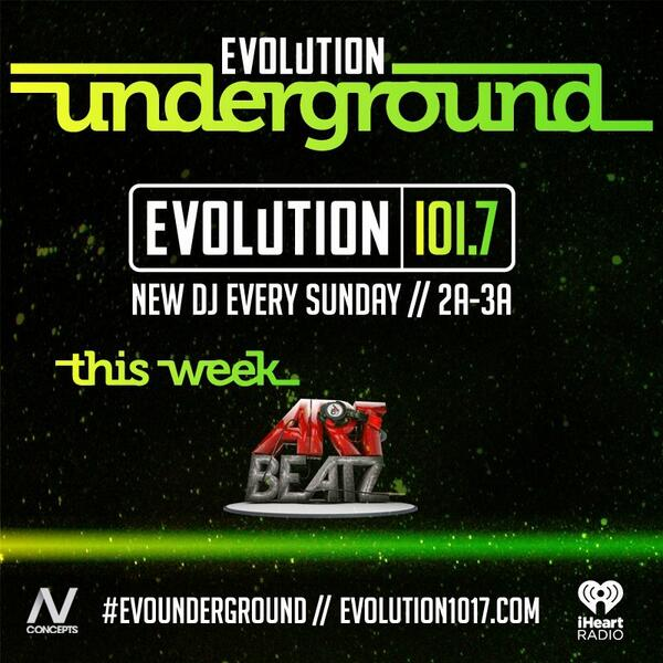 Hey #Boston catch my mix on @bostonevolution this Saturday night for the first ever #EvoUnderground http://t.co/Foq3bUURHs