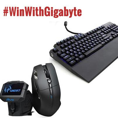 #WIN a @GIGABYTE_VGA #AIVIA Keyboard & Mouse Bundle worth £180! FLW & RT to enter! #WinWithGigabyte http://t.co/LjIIX69Cum