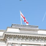 MT @foreignoffice: The flag of St George flies @ForeignOffice today. Happy #StGeorgesDay! http://t.co/zsmP5VszJE