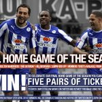 WIN! 5 pairs of tickets for the final home game of the season on Saturday v Bolton! RT to enter #swfc http://t.co/OfVbUsukzE