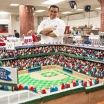 Wrigley Field is 100 Years today. @Cubs will celebrate with 400-pound cake replica of stadium. #america http://t.co/d0DKaeRfVz