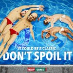 A warning for any Real Madrid or Bayern Munich players thinking of diving in tonights Champions League semi-final... http://t.co/CrvkTYlO1f