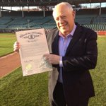 "RT @Cubs: Were pleased to have @GovernorQuinn with us, who officially declared ""Wrigley Field Day"" to mark #WrigleyField100. http://t.co/1sFEyAt84d"