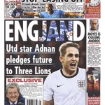 Adnan Januzaj to play for Belgium. This Sun back page from a few months back doesnt look too good now! #MUFC http://t.co/gfQI1wBDVb
