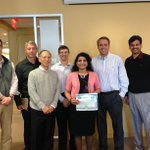 AIRs Laxmi Balcha w/ @Verisk CEO Scott Stephenson & AIR CEO Ming Lee accepting Verisk Citizenship Award - Congrats! http://t.co/r2992IdHGU