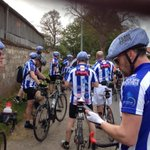 Small break - 10 miles to go today! #p4p5 http://t.co/PRGGgg4ht4