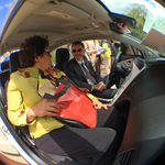 RT @OPMDirector: At an #EarthDay celebration hosted by @usgsa, @Interior, & @USOPM, @DanGSA and I just checked out a new electric car! http://t.co/u5SfhtwQ4N