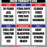 RT @SheffieldStar: Heres the news bills for Thursdays @SheffieldStar #Sheffield #SouthYorkshire http://t.co/KBiyzsjSkC