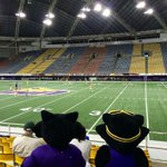 Enjoying the soccer game in the UNI-Dome with @unitkpanther #gopanthers #UNI #Panthers http://t.co/c5XRmtmmL0