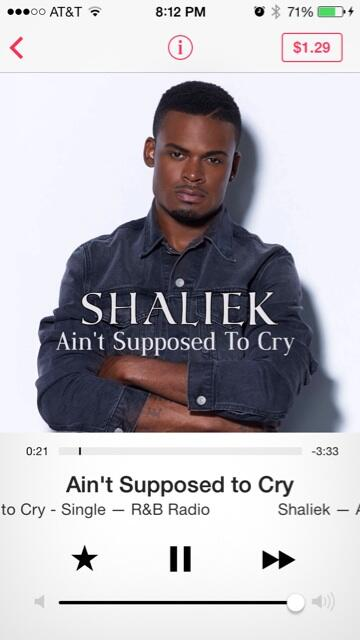 DAMIEN CRAWFORD  (@DamienCrawford): @officialShaliek look what popped on my iTunes Radio! http://t.co/P57TLvB46u