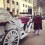 Horseless carriage ride through downtown #Detroit! (@ Downtown Detroit w/ 2 others) http://t.co/0ArVPqrVzO http://t.co/TUknhpCDAH