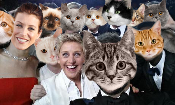 Thanks to all my new followers! In @TheEllenShow fashion, I wanted to share a selfie with all my famous friends. http://t.co/UAiyuHvff8