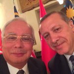 RT @electionista: #Malaysia PM @NajibRazak takes selfie with #Turkey PM Erdogan, hits 10K RTs https://t.co/UV4zi7kNeo