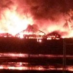 """@BBCNews: Huge overnight fire on Leeds industrial estate being tackled by 15 fire engines http://t.co/NcWsivPARd http://t.co/8arZfkmiWm"" "