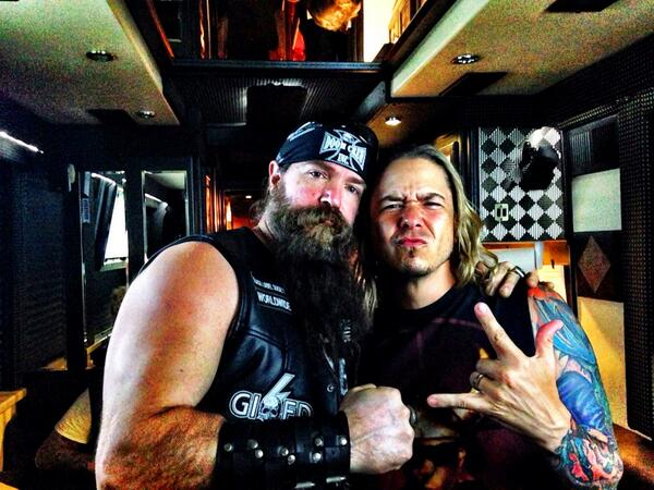 Great to hang with Father @ZakkWyldeBLS at @cRebellion on Saturday. http://t.co/wWOZ0hi8j4