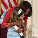 RT @BostonGlobe: A 10-year-old girl handed her jobless dad's resume to Michelle Obama on take kids to work day. http://t.co/mp6whG5jHJ http://t.co/9SXLr6CGId