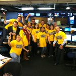 #LoudProudWarriors RT @KRON4APero: Newsroom pic, everyone ready for the Warriors big game tonight. #kron4news http://t.co/QNTTL9Bsqn