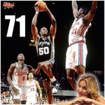 #TBT On this day in 1994, David Robinson scored 71 against the Clippers. It was a glorious day for @MichelleDBeadle. http://t.co/b9fMCIeMcL