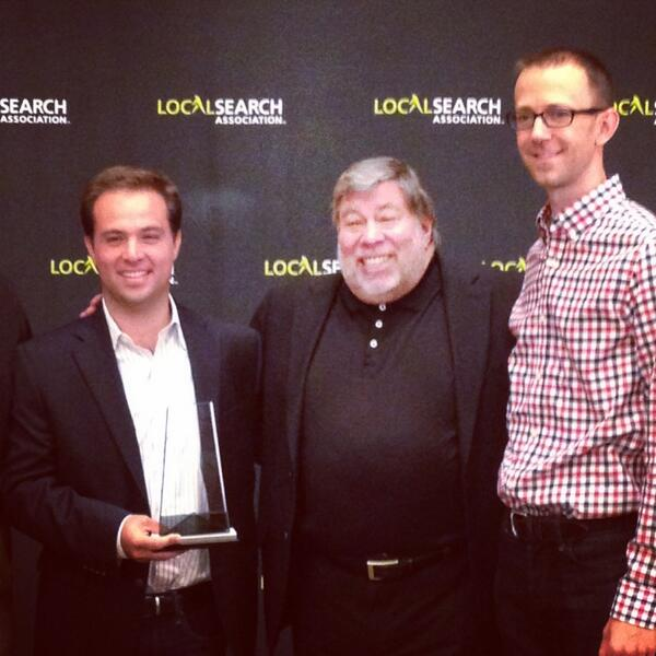 Thinknear wins the #mobile award at #LSA14!! http://t.co/qpGEYbcB2Z
