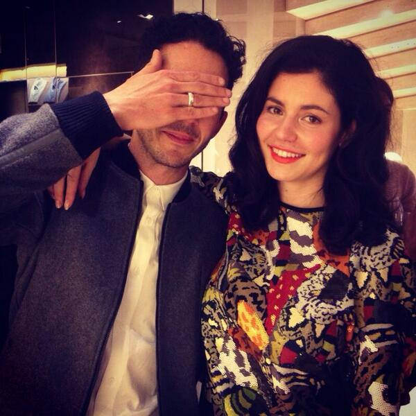 Bumped into @MarinasDiamonds at a @Fendi launch. http://t.co/AAAHsoPvz0