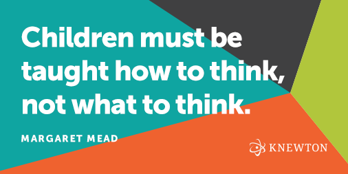 """Children must be taught how to think, not what to think."" --Margaret Mead #education http://t.co/s0z42Wy6NP"