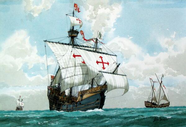 Found after 500 years, wreck of Christopher Columbus's flagship the Santa Maria: http://t.co/uMI6p5r2dm http://t.co/s0Vdsj0A8j