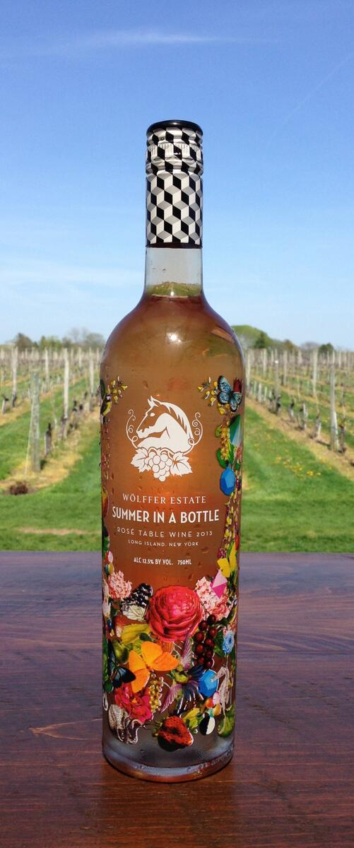 IT'S HERE! Today is the official release of our new Summer in a Bottle Rosé! Summer starts NOW! #summerinabottle http://t.co/BfRaoreekm