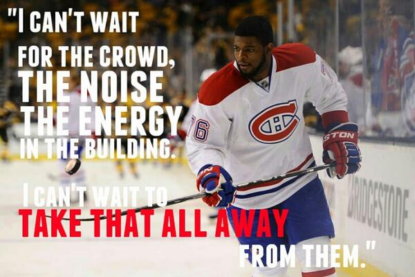 Prior to Game 7 from @PKSubban1. #HabsvsBruins http://t.co/suqYYRHE3r