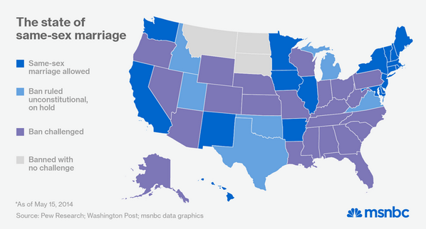 How many states have legalized same sex marriage picture 22