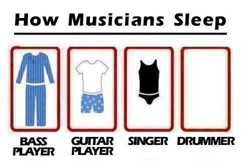 How musicians sleep... http://t.co/y57URhDRzt