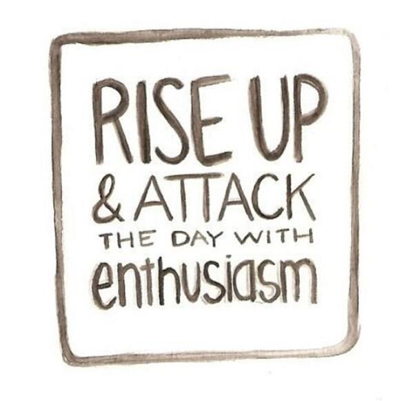 Every day is a new chance! Rise up and attack the day with your enthusiasm #gettheglow #thinkclean http://t.co/ctPRQ6WZae